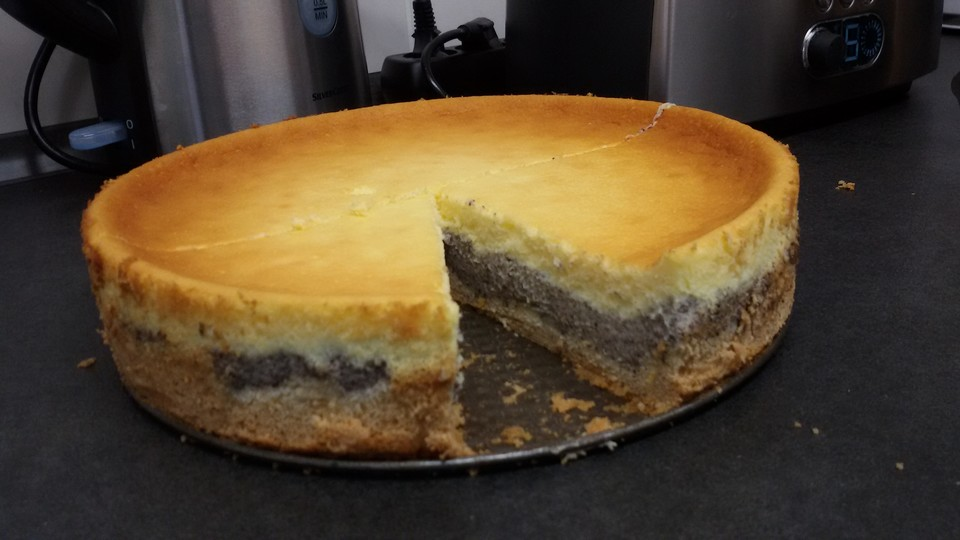 Mohn Schmand Kuchen