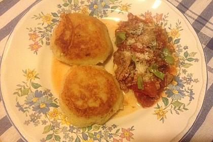 Kartoffelpuffer aus Kartoffelbrei 2