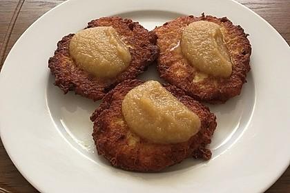 Kartoffelpuffer aus Kartoffelbrei