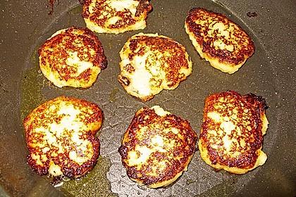 Kartoffelpuffer aus Kartoffelbrei 10