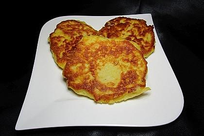 Kartoffelpuffer aus Kartoffelbrei 5