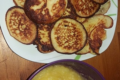 Kartoffelpuffer aus Kartoffelbrei 8