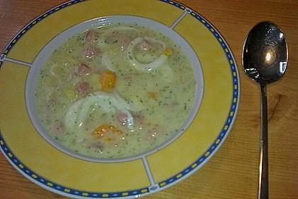 Kartoffelsuppe mit Dill