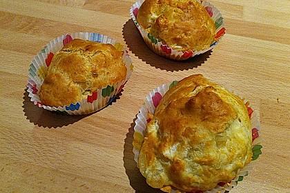 Ziegenkäse - Muffins 1