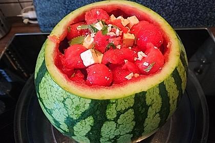 Mediterraner Melonensalat 1