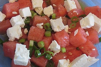Mediterraner Melonensalat 15