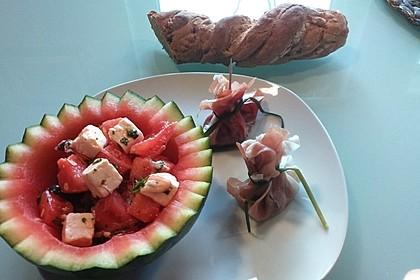 Mediterraner Melonensalat 3