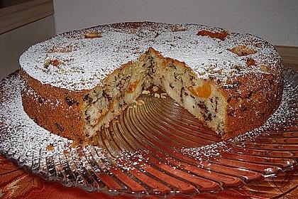 Ameisen-Marillenkuchen mit Puddingfüllung 27
