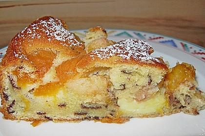 Ameisen-Marillenkuchen mit Puddingfüllung 35