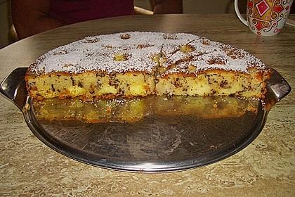 Ameisen-Marillenkuchen mit Puddingfüllung 36