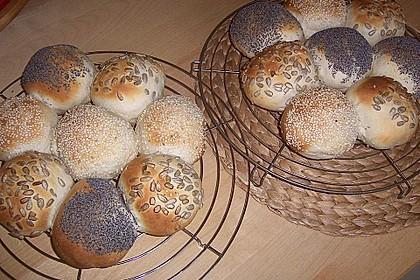 Frischkäsebrotstange mit Sesamkruste 14