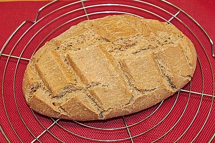 Frischkäsebrotstange mit Sesamkruste 9