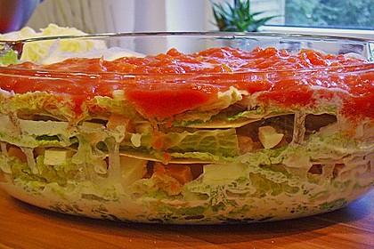 Lachs-Wirsing Lasagne 5