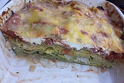 Lachs-Wirsing Lasagne 4
