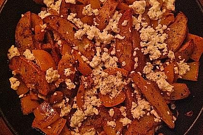 Kartoffel - Paprika Pfanne mit Schafskäse 7