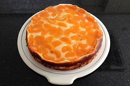 Quarkkuchen mit Mandarinen 7
