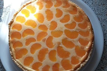 Quarkkuchen mit Mandarinen 5