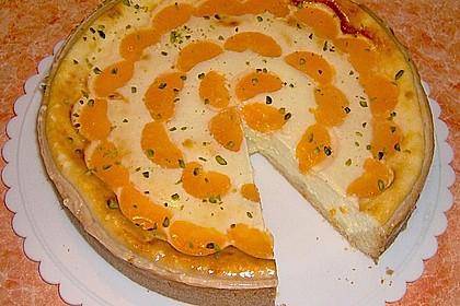Quarkkuchen mit Mandarinen 3