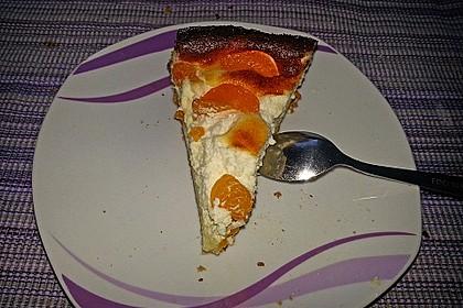 Quarkkuchen mit Mandarinen 11