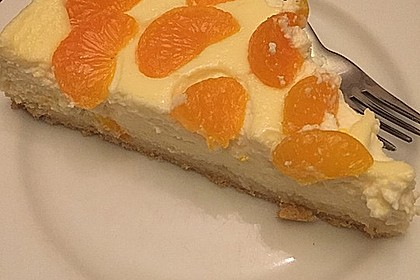 Quarkkuchen mit Mandarinen 2