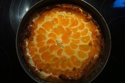 Quarkkuchen mit Mandarinen 6