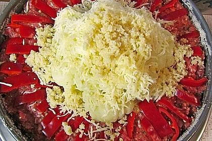 Blumenkohl im Hackfleischring 40