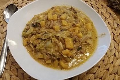 Chinakohl - Kartoffel - Eintopf 3