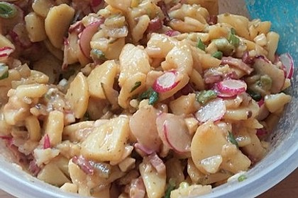 Bayrischer Kartoffelsalat 11