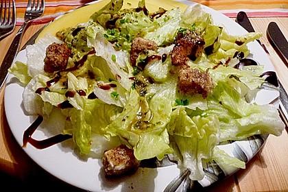Blattsalat mit Mango und Schafskäse 43