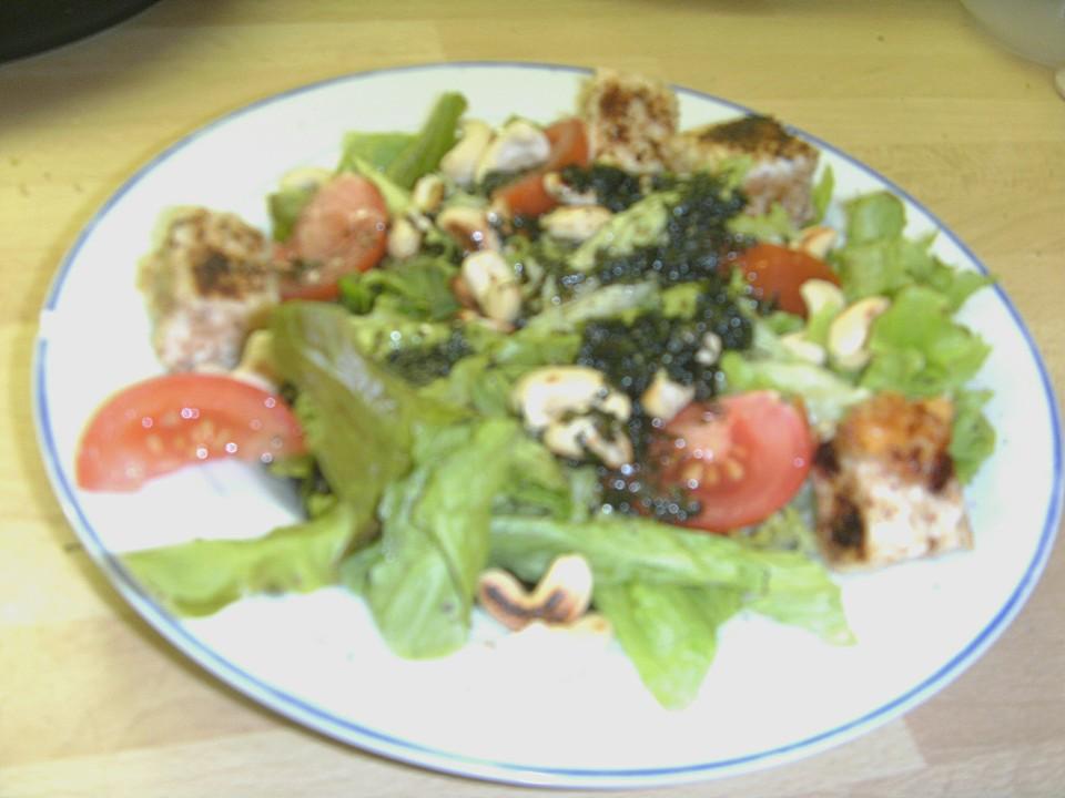 Rezept salat mango schafskase