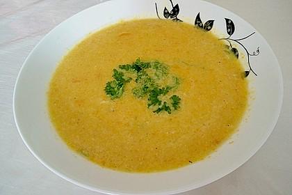 Möhren-Kokos-Suppe mit Mango 17