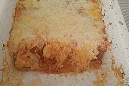 Weißkohl (Wirsing) - Auflauf