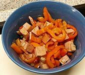 Paprika - Wurst - Salat