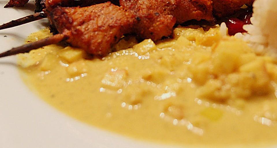 Milde Currysauce