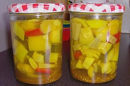 Eingelegte Zucchini 4