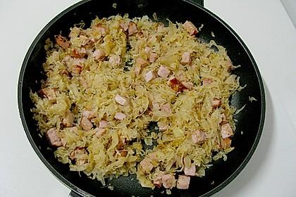 Kartoffel - Sauerkraut - Auflauf 6