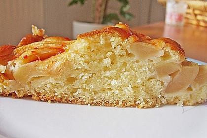 Einfacher versunkener Apfelkuchen 31