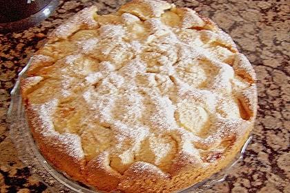 Einfacher versunkener Apfelkuchen 48