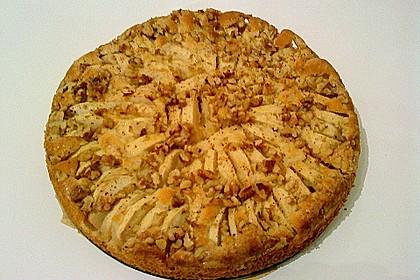 Einfacher versunkener Apfelkuchen 47