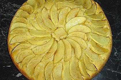 Einfacher versunkener Apfelkuchen 49