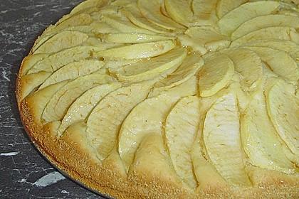 Einfacher versunkener Apfelkuchen 32