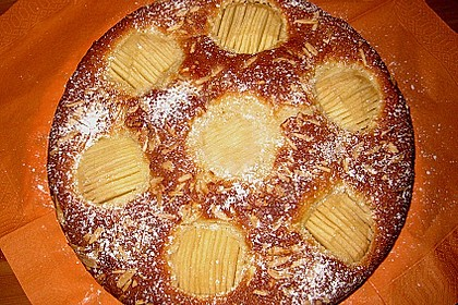 Einfacher versunkener Apfelkuchen 9