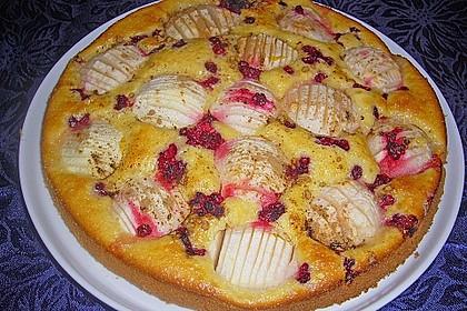 Einfacher versunkener Apfelkuchen 21