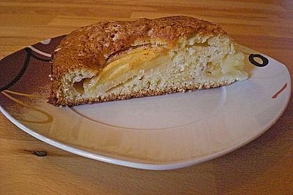 Einfacher versunkener Apfelkuchen 17