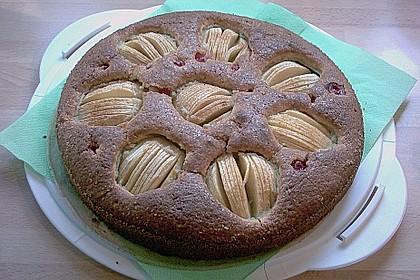 Einfacher versunkener Apfelkuchen 13