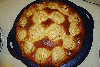 Einfacher versunkener Apfelkuchen 46
