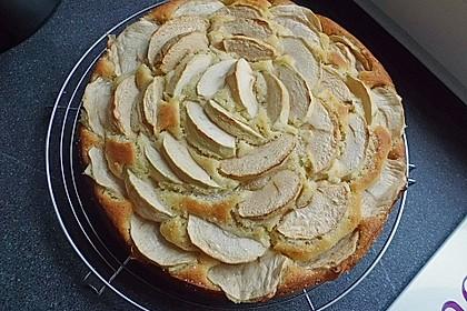 Einfacher versunkener Apfelkuchen 24