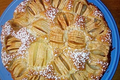 Einfacher versunkener Apfelkuchen 37