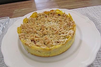 Rhabarberkuchen mit Vanillecreme und Streusel 105