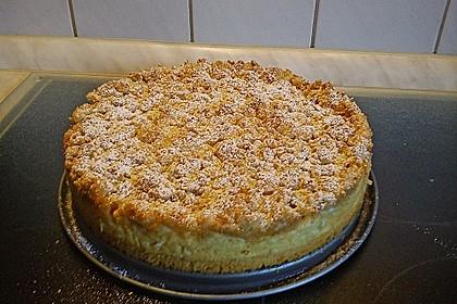 Rhabarberkuchen mit Vanillecreme und Streusel 145